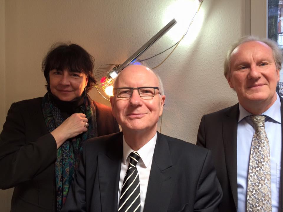 Ines Kehrein, Prof. Heinz Lohmann, Dr. Konrad Rippmann