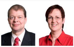 Dr. Andreas Oertel und Ursula Tänzer
