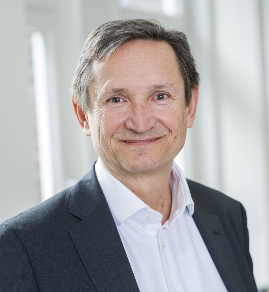 Dr. h.c. Helmut Hildebrandt, Vorstand des Unternehmens für Management, Analytik und Forschung im Gesundheitswesen OptiMedis